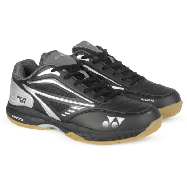 Yonex Court Ace Tough Black Badminton Sh...