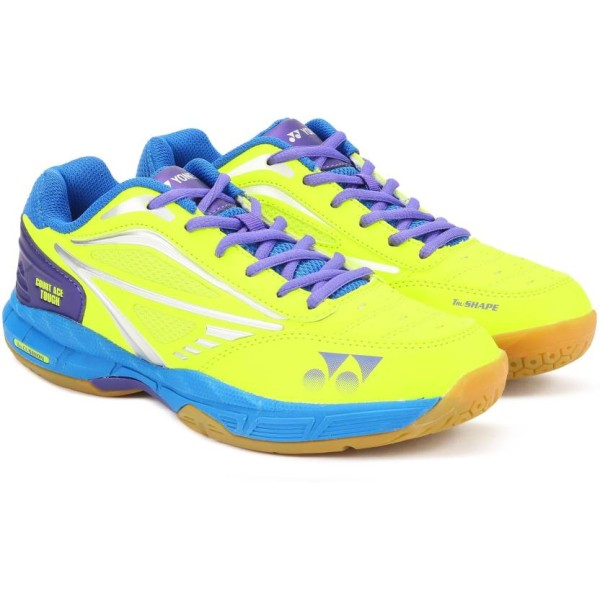 Yonex Court Ace Tough Lime Green Badmint...