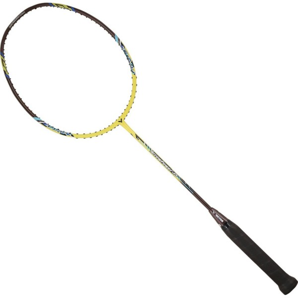 Victor AL 2200/Badminton racket and shuttlecock in yellow single racket or as a set with racket//balls//carry bag