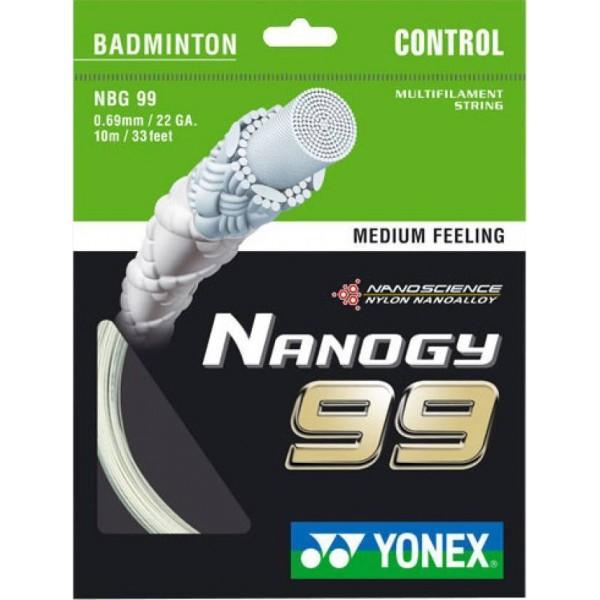 Yonex NanoGY 99 Badminton String(0.69 m...