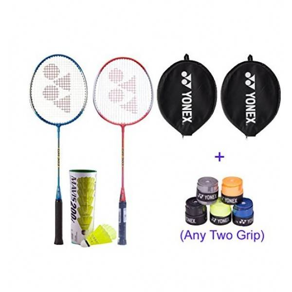 Yonex Badminton Racket Combo With 2 Yone...
