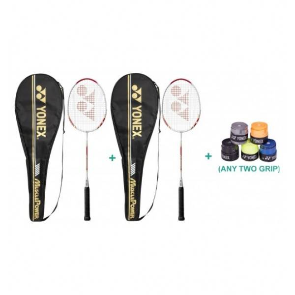 Yonex Muscle Power 700 Racquet Set With Two Overgrip