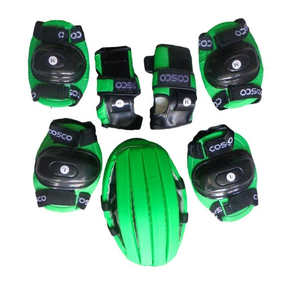 Cosco Skates protective kit Green