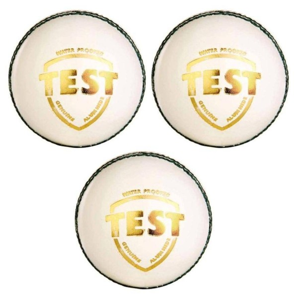 SG Test White Cricket Ball 3 Ball set