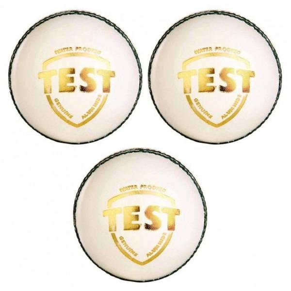 SG Test White Cricket Ball 3 Ball set