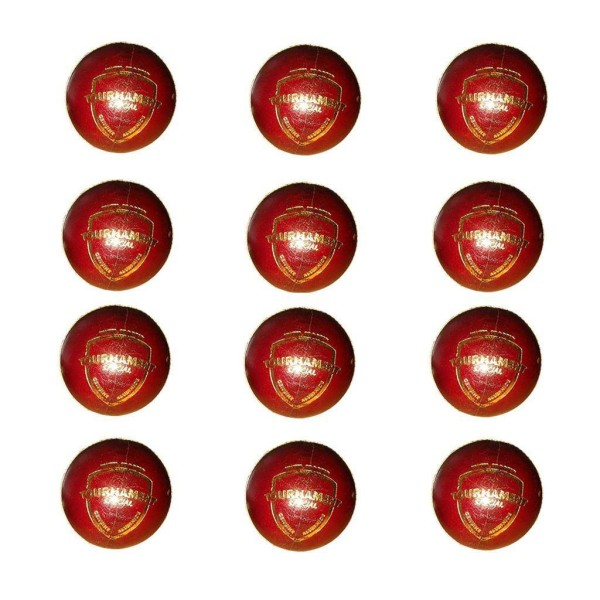 SG Tournament Cricket Ball 12 Ball set