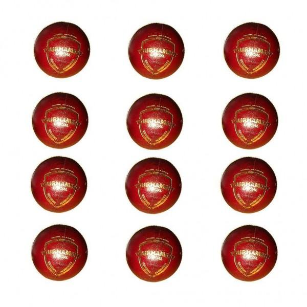 SG Tournament Cricket Ball 12 Ball set