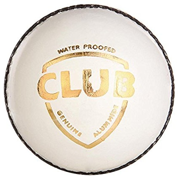 SG Club White Cricket Ball 12 Ball set