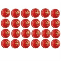 Aj Baz Cricket Ball Set of 24 Ball Red