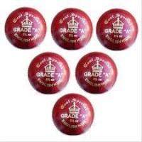 Aj Test Special Cricket Ball Set of 6 Ba...