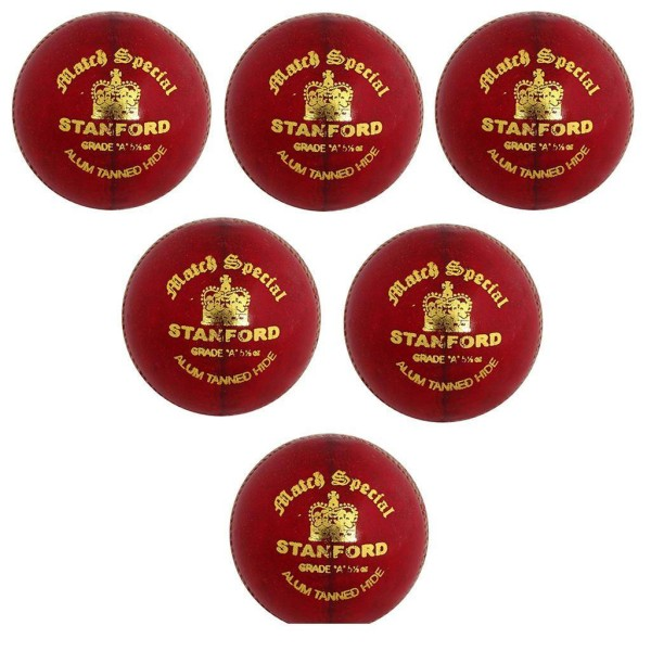 SF Match Special Cricket Ball 6 Ball Set