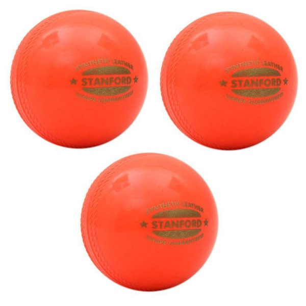 SF Synthetic Soft Cricket Ball 3 Ball Set