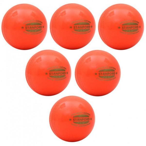 SF Synthetic Soft Cricket Ball 6 Ball Set
