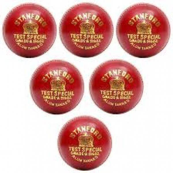SF Test International Red Cricket Ball 6...