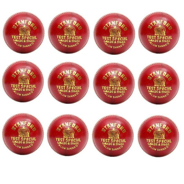 SF Test Special red Cricket Ball 12 Ball...