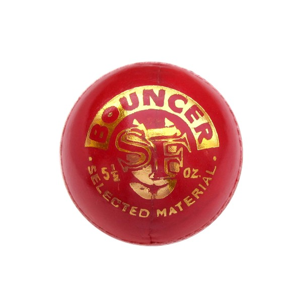 SF Bouncer Red Cricket Ball 6 Ball Set