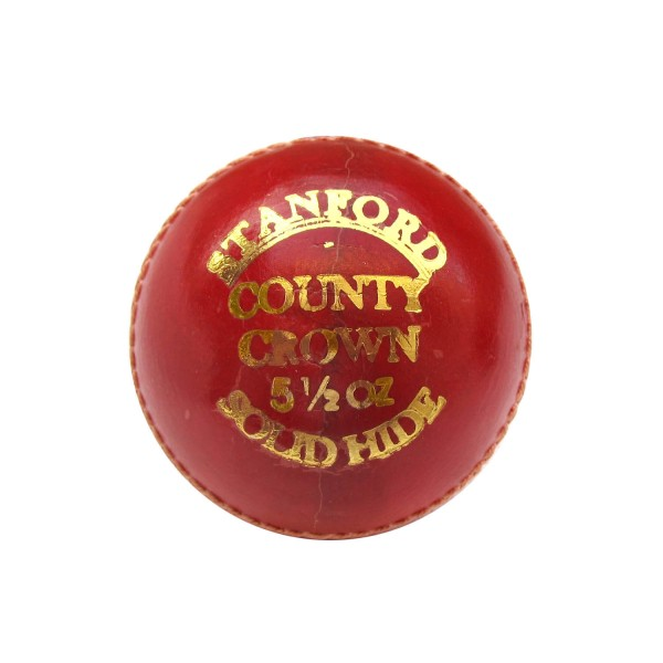 SF County Crown Red Cricket Ball 12 Ball