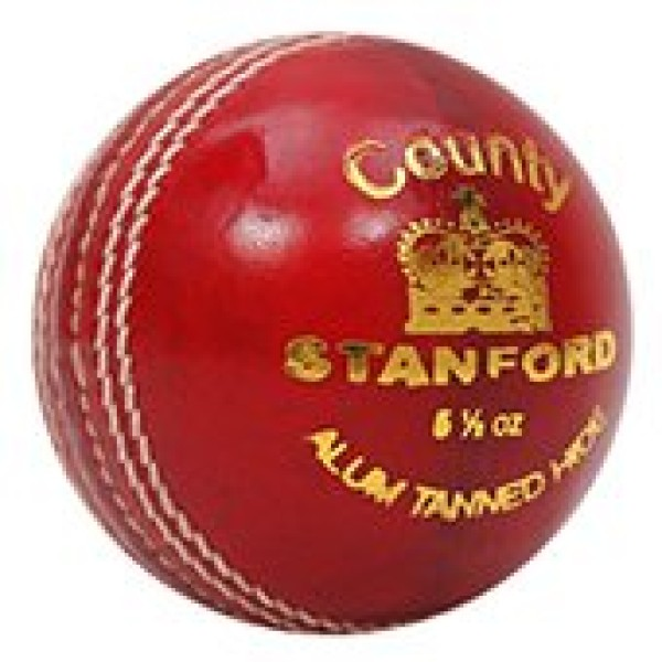 Stanford County Red Cricket Ball 3 Ball ...