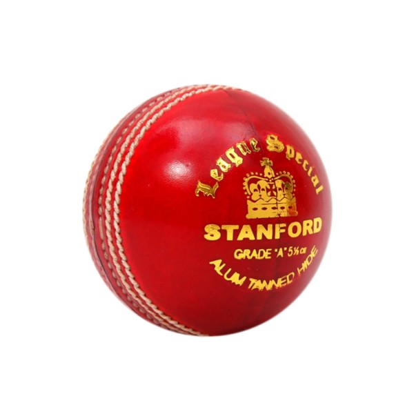 SF League Special Red Cricket Ball 6 Ball Set