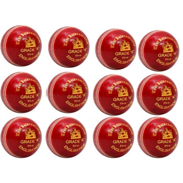 Stanford Test International Red Cricket ...