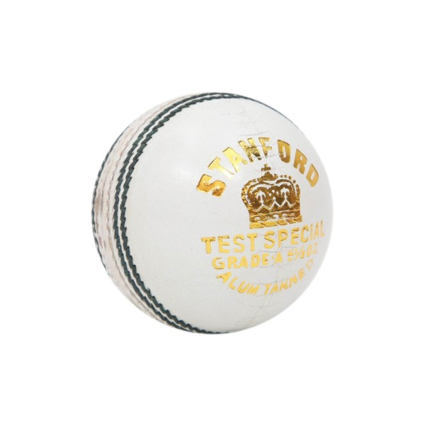 Stanford Test Special White Cricket Ball...