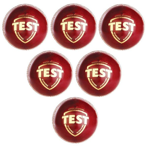 SG Test Cricket Ball 6 Ball set