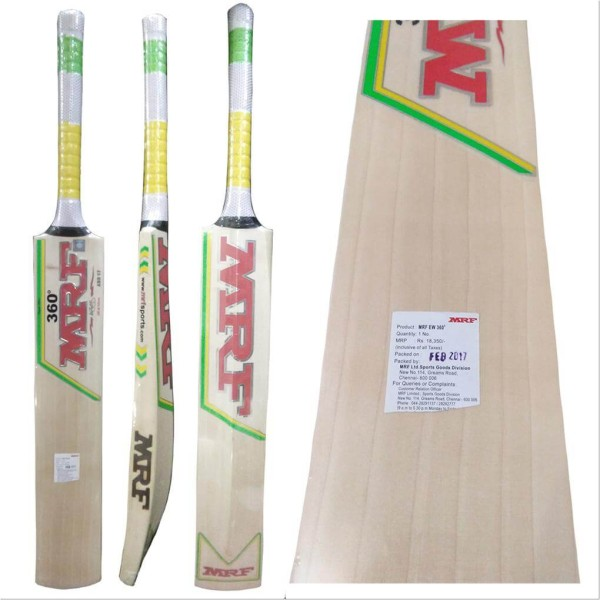 MRF 360 Degree English Willow Cricket Ba...