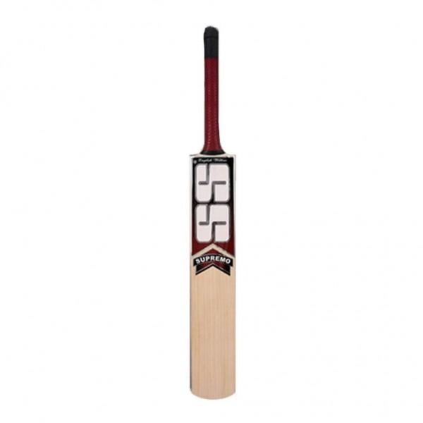 SS Supremo English Willow Bat Cricket Ba...