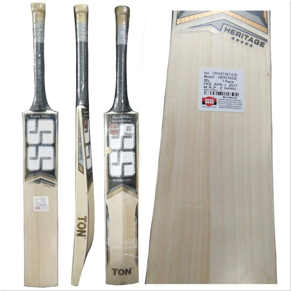 SS Ton Heritage English Willow Cricket B...