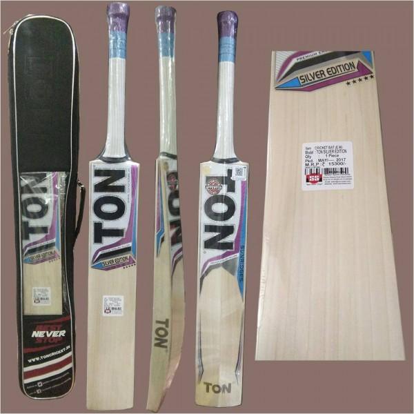 SS Ton Silver Edition English Willow Cricket Bat
