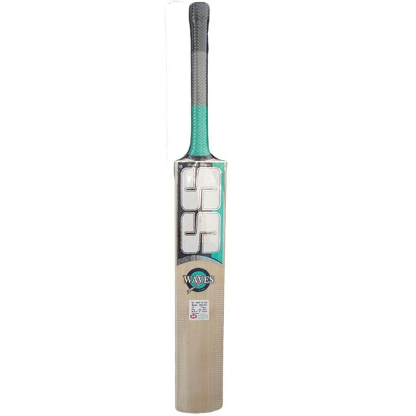 SS Waves English Willow Cricket Bat Stan...