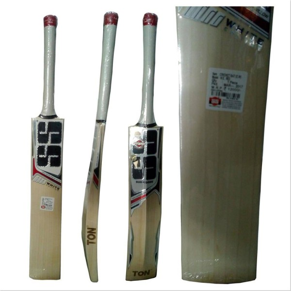 SS White Edition red English Willow Cric...