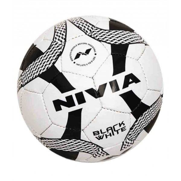 NIVIA Black and White Football