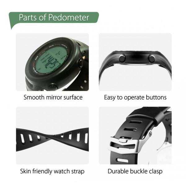 HealthSense PD-102 Smart 3D Pedometer Swimming Watch