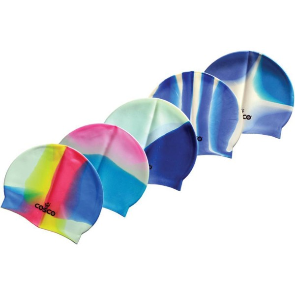 Cosco Swimming Cap Multicolor