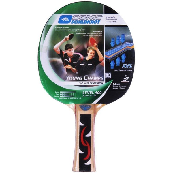 Donic Young Champ 400 Table Tennis Racke...