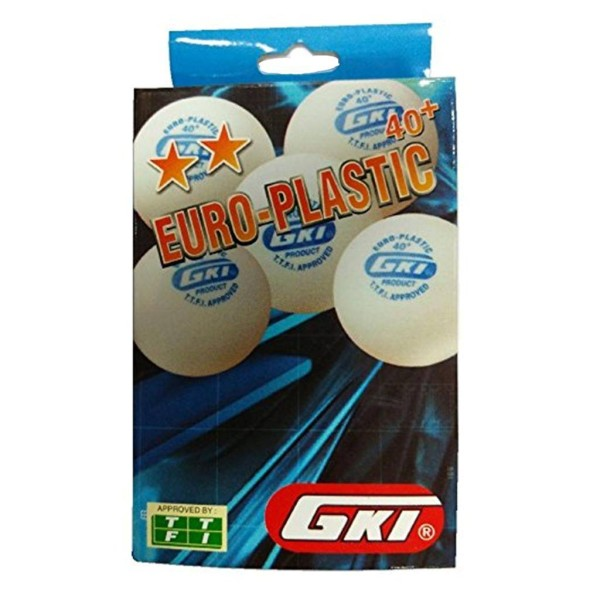 GKI Euro Plastic 40 Plus Table Tennis Ba...
