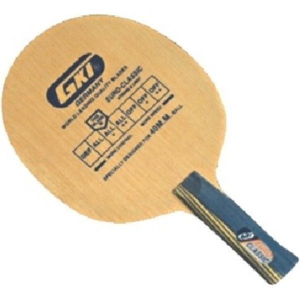 GKI Euro Classic Ply Table Tennis Blade