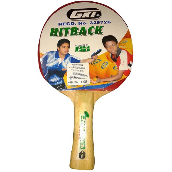 GKI Hitback Table Tennis Racquet