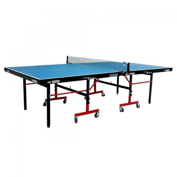 Metco Club Table Tennis Table Blue