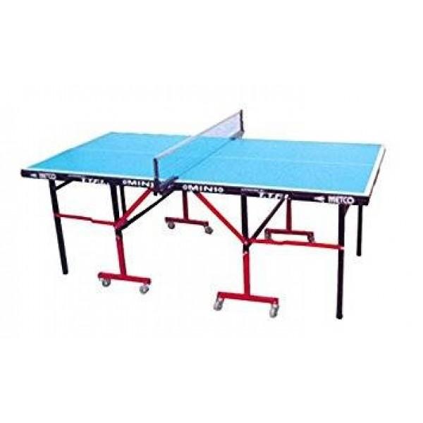 Metco Mini Table Tennis Table Blue