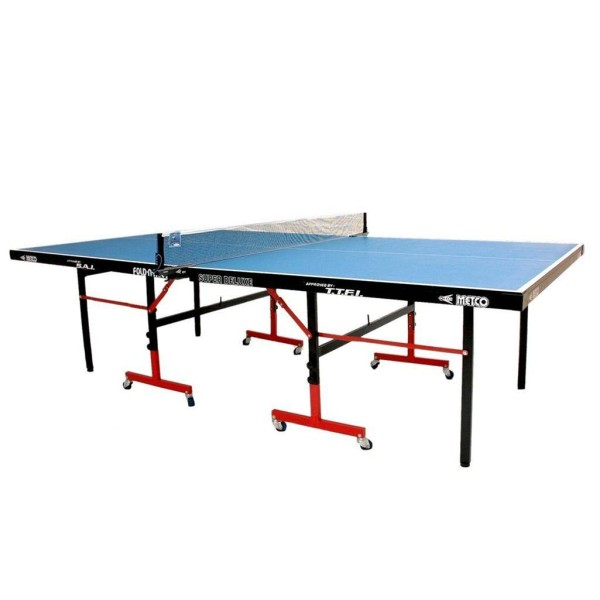 Metco Super Deluxe Table Tennis Table Blue