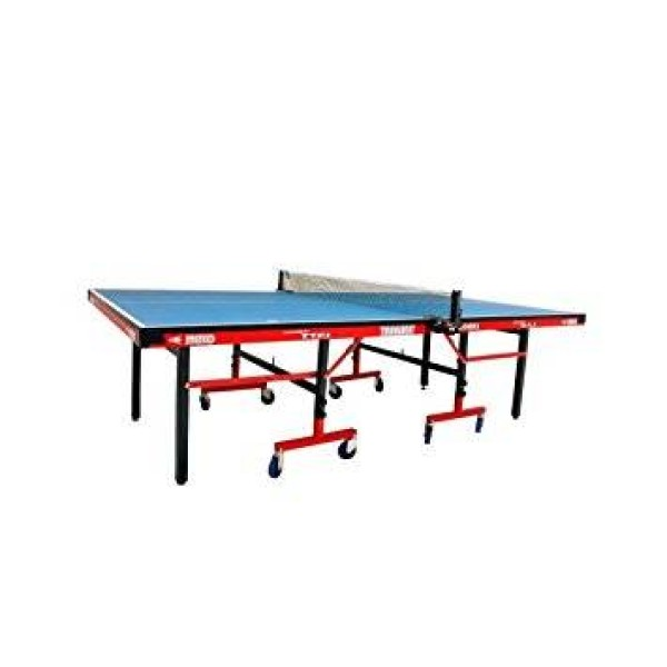 Metco Tournament Table Tennis Table Blue