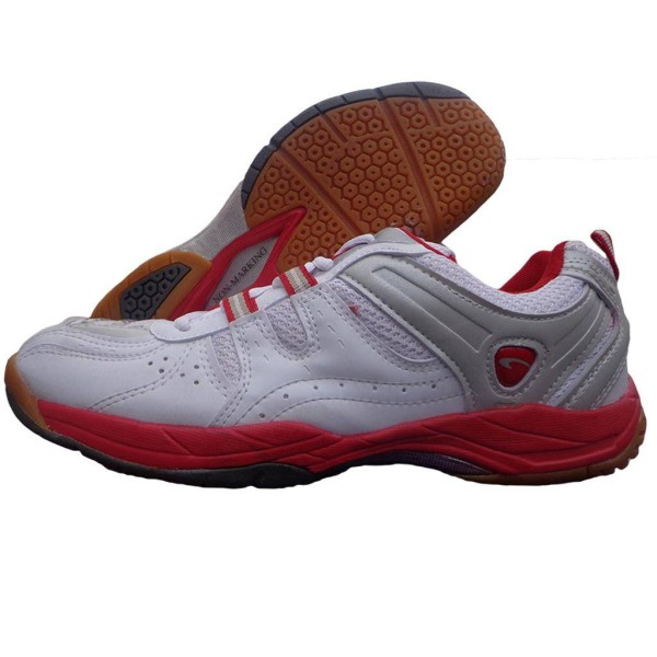 PRO ASE Court Table Tennis shoe red whit...