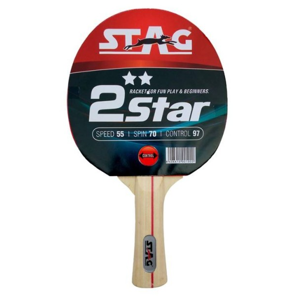 Stag 2 Star Table Tennis Racquet