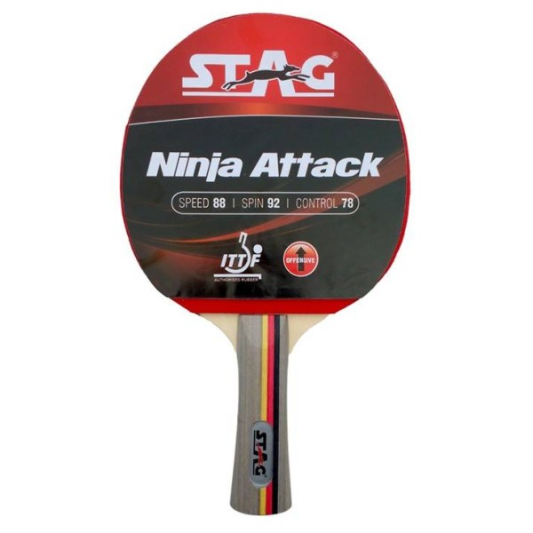 Stag Ninja Attack Table Tennis Racquet