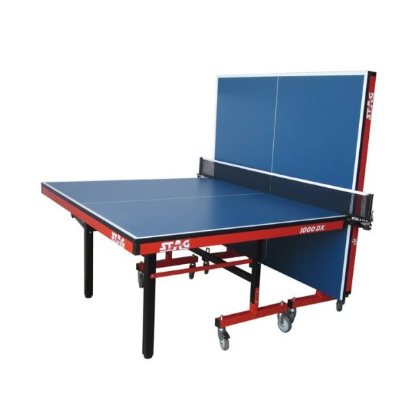 Stag International Deluxe Table Tennis Table (With 100 mm Wheels)