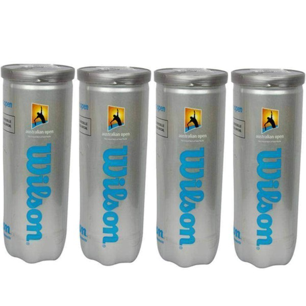 Wilson Australian Open Tennis Ball 4 Cans