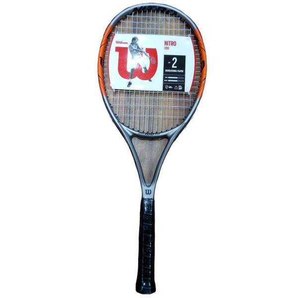 Wilson Nitro 100 Tennis Rackets Without ...
