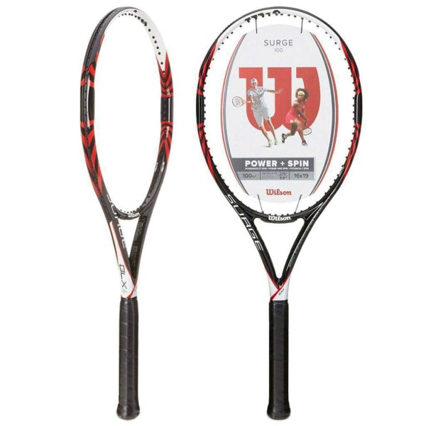 Wilson Surge Pro 100 (Red) Tennis Racket